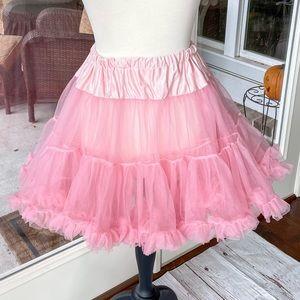 Leg Avenue Pink Double Layer Tutu Crinoline Petticoat